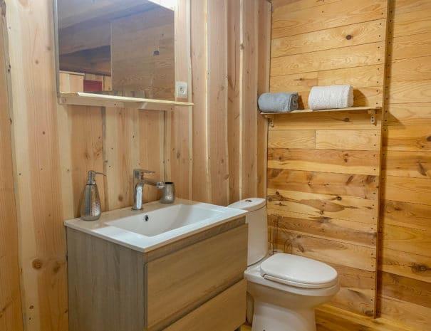 photo salle d'eau 2 - chambre d'hôtes - les bruyères