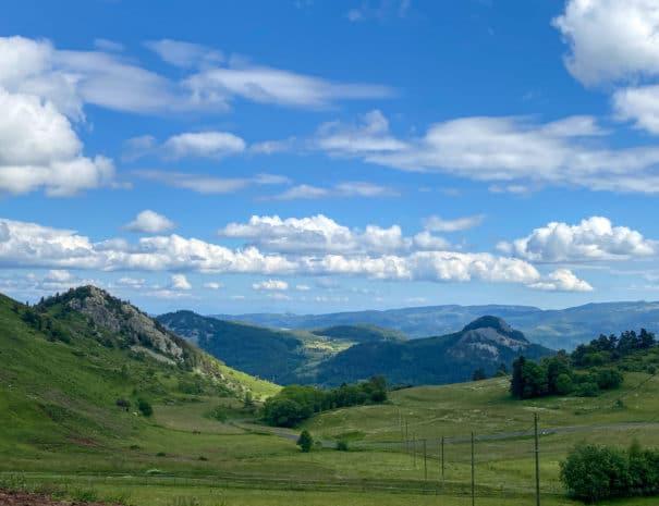 vue panoramique 2 - ferme de médille