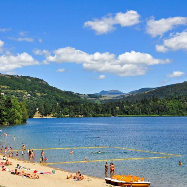 Plage du Lac d'Issarlès