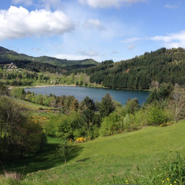 Vue sur l'ensemble du Lac de Saint-Martial